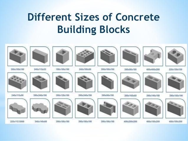 how to cut concrete building blocks