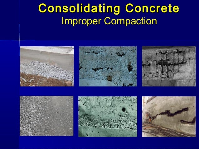 compaction of concrete Key to a sound concrete slab is compact fill underneath tim carter the dirt and rock in the center of the future garage has been compacted by mother nature for eons.