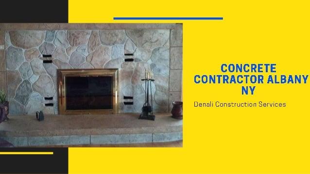 Concrete Contractor Albany NY