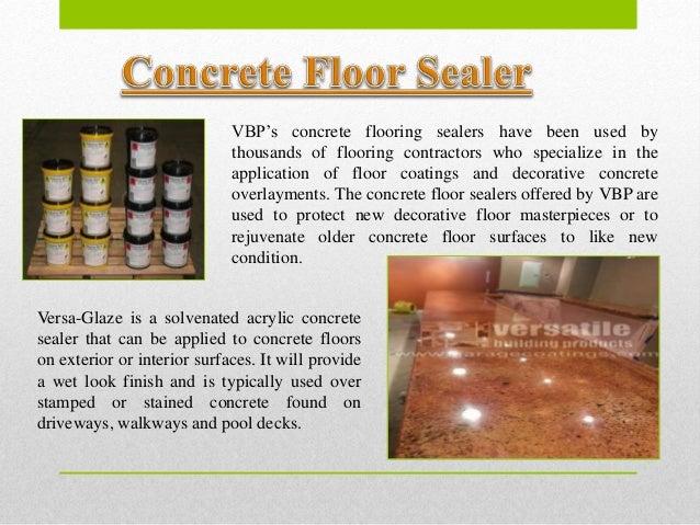 Epoxy Concrete Sealer