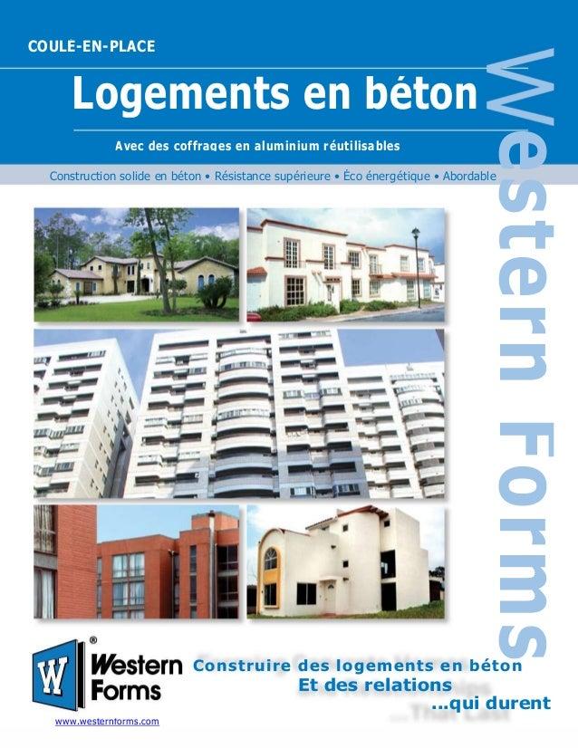 Construction solide en béton • Résistance supérieure • Éco énergétique • Abordable Construire des logements en béton Et de...