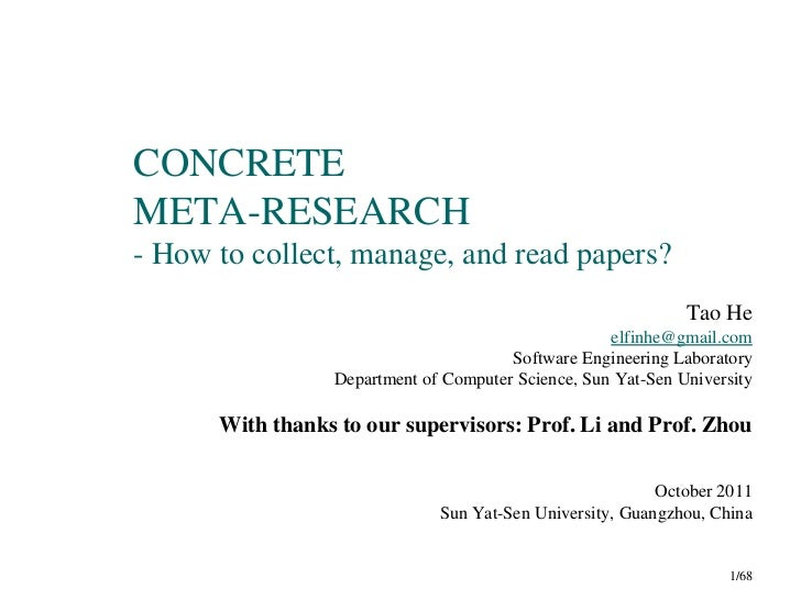 CONCRETEMETA-RESEARCH- How to collect, manage, and read papers?                                                           ...