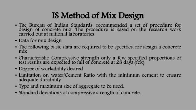 Thesis on ready mix concrete