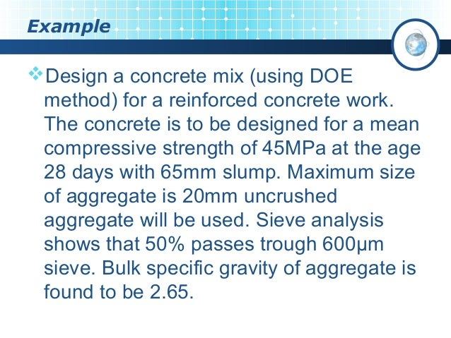 Concrete technology | concrete mix design procedure.