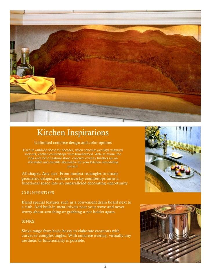 2. Kitchen Inspirations Unlimited Concrete ...