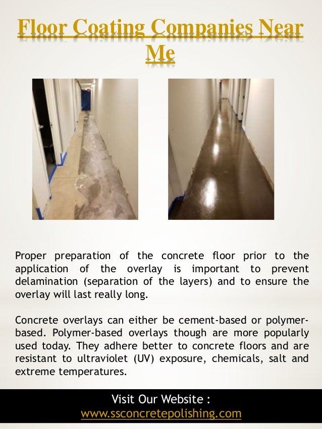 Concrete polishing contractors near me