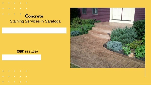 Concrete Staining Services in Saratoga (518) 583-1960