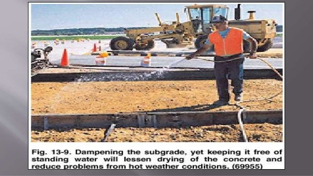 Hot And Cold Weather Concreting