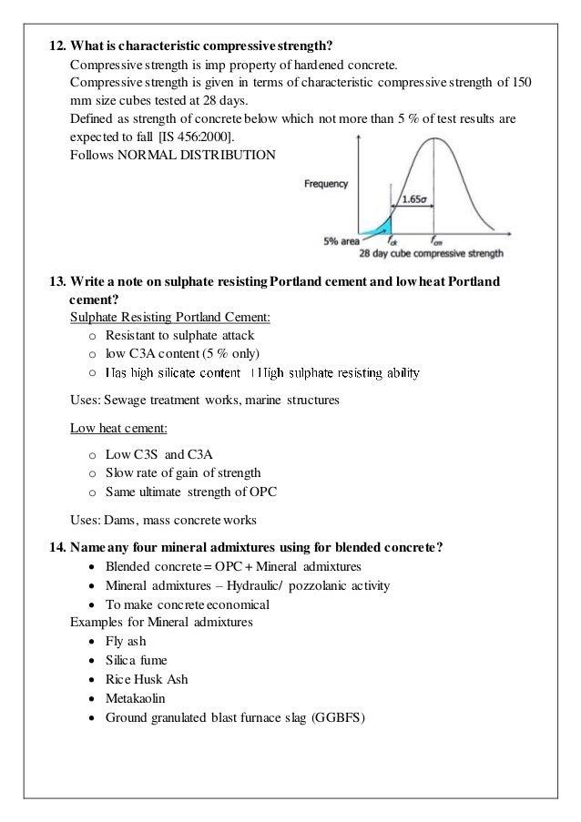 Concrete Technology Study Notes