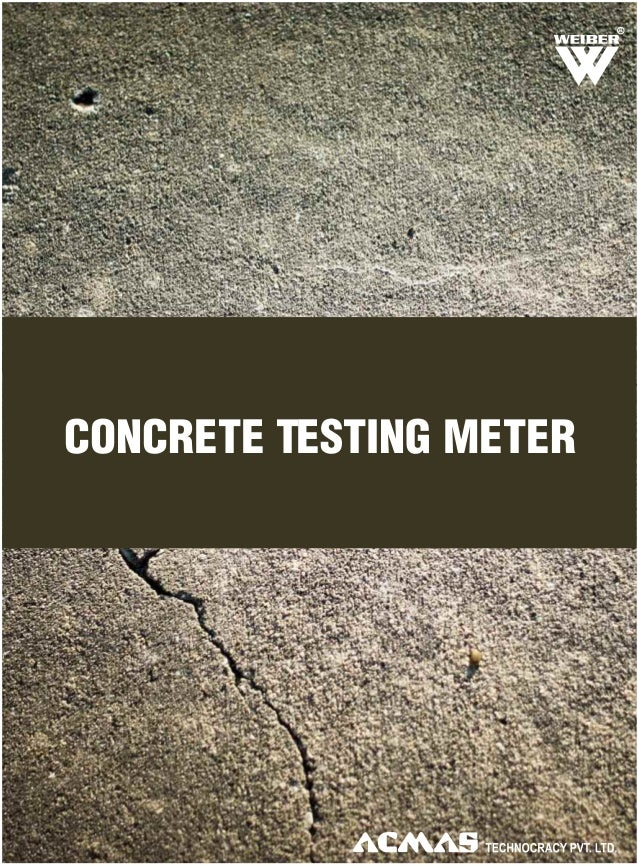 CONCRETE TESTING METER R