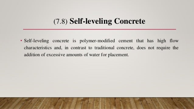 Concrete and its types and properties and admixtures used in