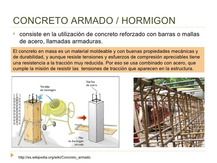 Concreto for El hormigon encerado es impermeable