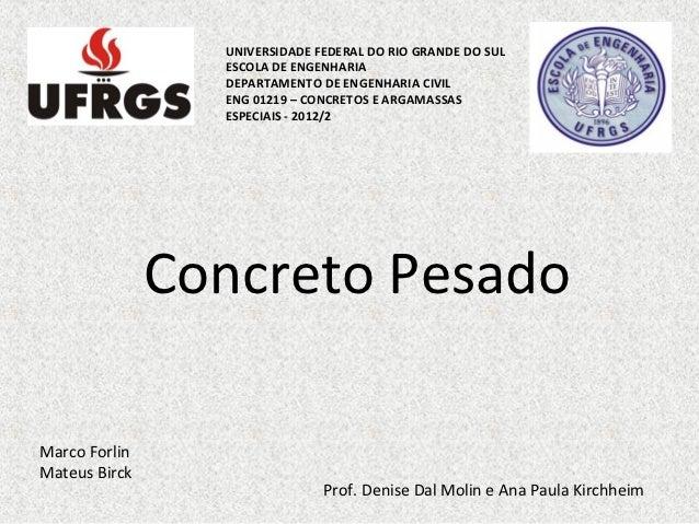 UNIVERSIDADE FEDERAL DO RIO GRANDE DO SUL                 ESCOLA DE ENGENHARIA                 DEPARTAMENTO DE ENGENHARIA ...