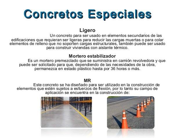 Concreto presentacion en power point for Mortero de cemento