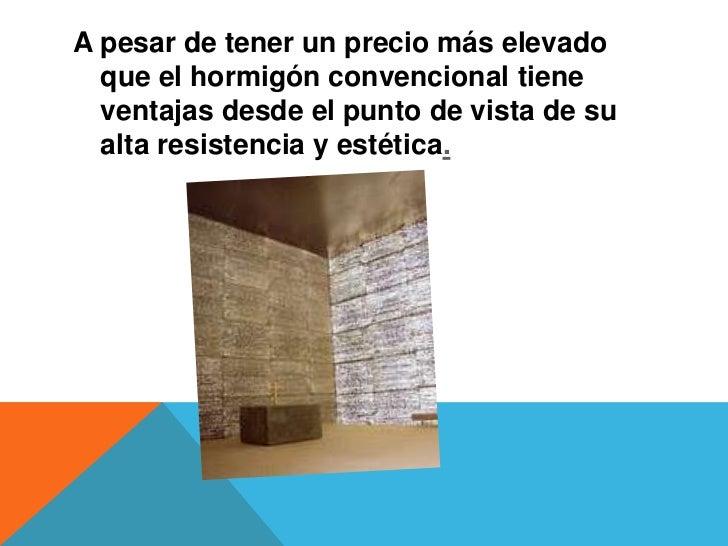concreto traslucido - Hormigon Traslucido