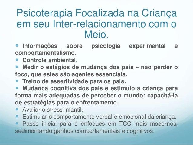 Atenção e psicoterapia