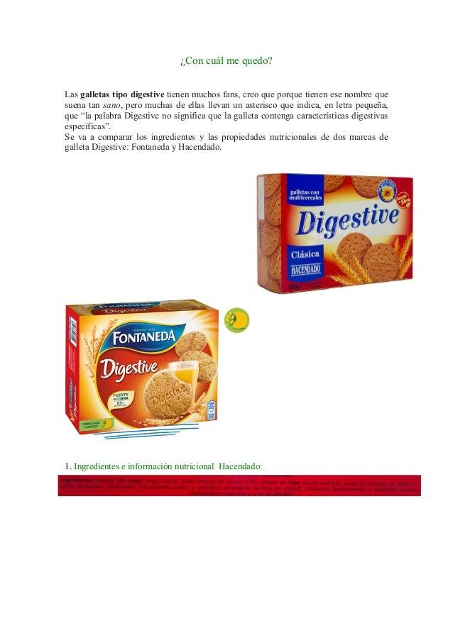 db05f778fe Las galletas tipo digestive tienen muchos fans, ...