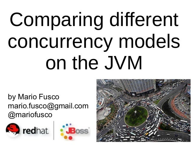by Mario Fusco mario.fusco@gmail.com @mariofusco Comparing different concurrency models on the JVM
