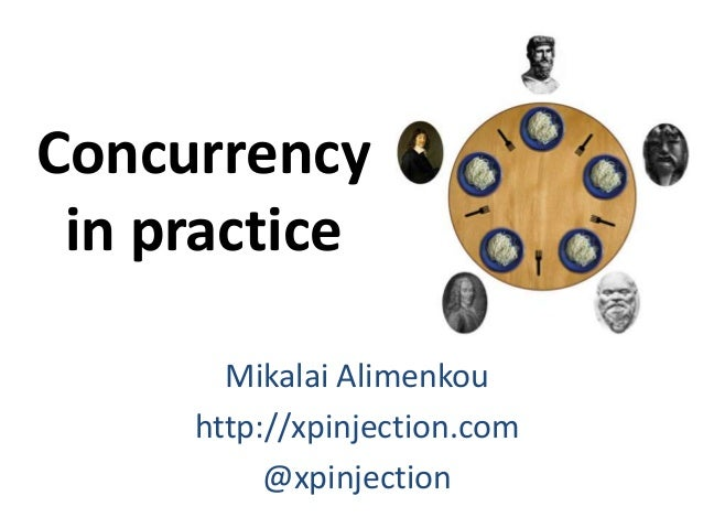 Concurrency  in practice  Mikalai Alimenkou  http://xpinjection.com  @xpinjection