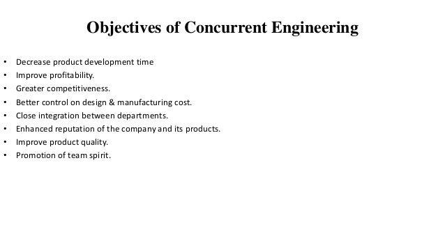 Concurrent Engineering Team : Concurrent engineering