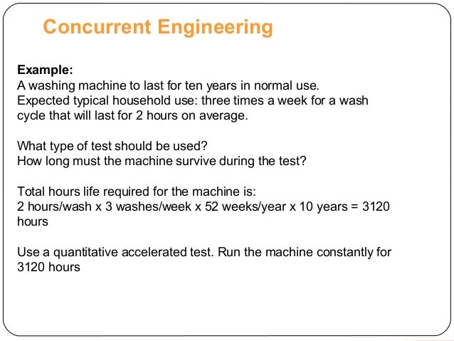 Concurrent Engineering Concept : Concurrent engineering