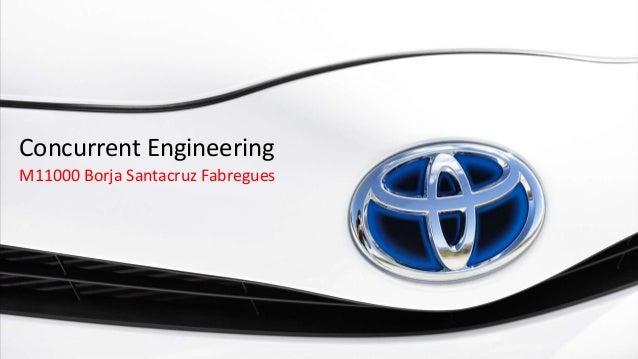Concurrent EngineeringM11000 Borja Santacruz Fabregues