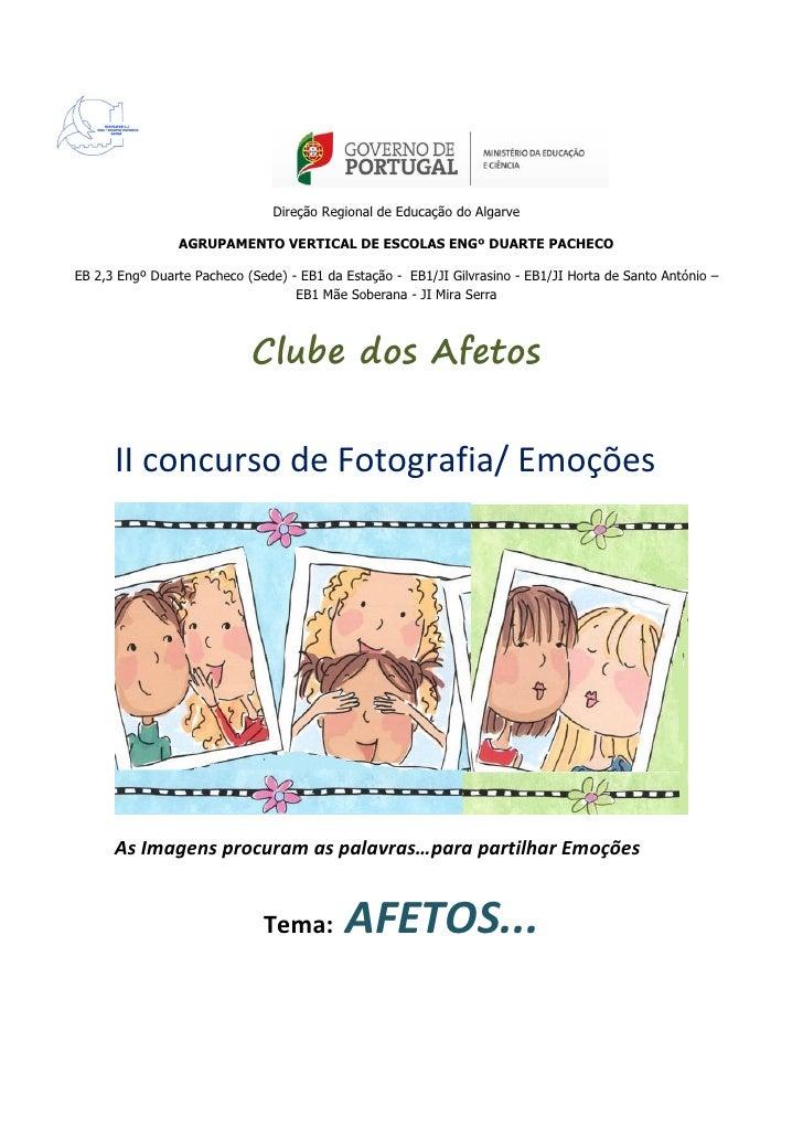 Direção Regional de Educação do Algarve                AGRUPAMENTO VERTICAL DE ESCOLAS ENGº DUARTE PACHECOEB 2,3 Engº Duar...
