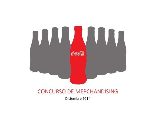 CONCURSO DE MERCHANDISING Diciembre 2014