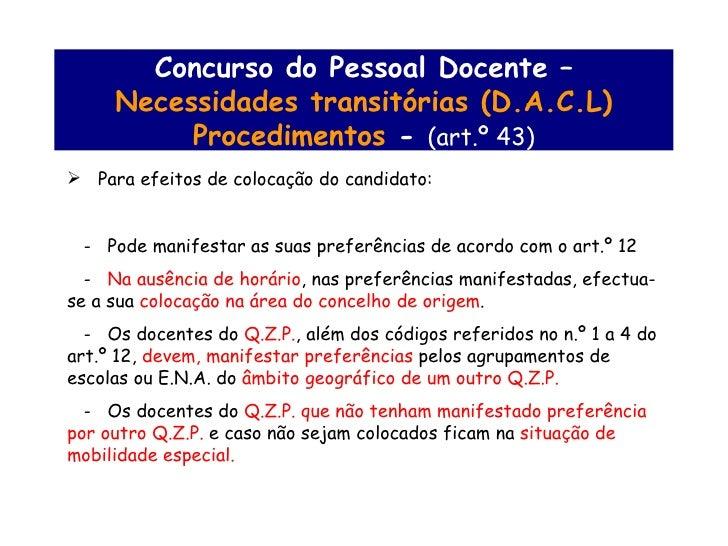 Concurso de pessoal docente for Concurso docentes