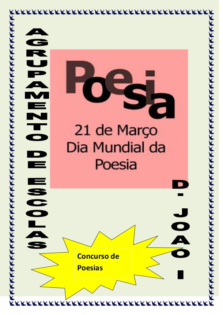 Concurso dePoesias