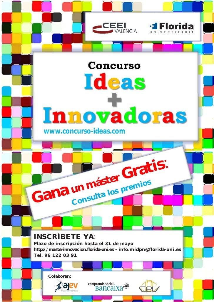 U N I V E R S I T À R I A                        Concurso    www.concurso-ideas.com                                  Grast...
