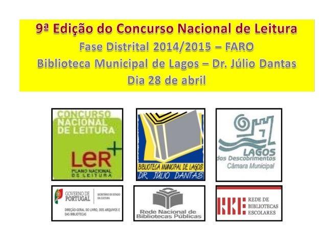 A organização deste evento foi da responsabilidade da Biblioteca Municipal de Lagos – Dr. Júlio Dantas e do Município de L...