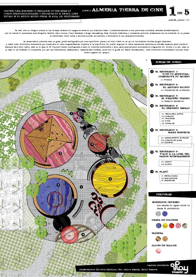 Concurso parque infantil for Plantas ornamentales para parques