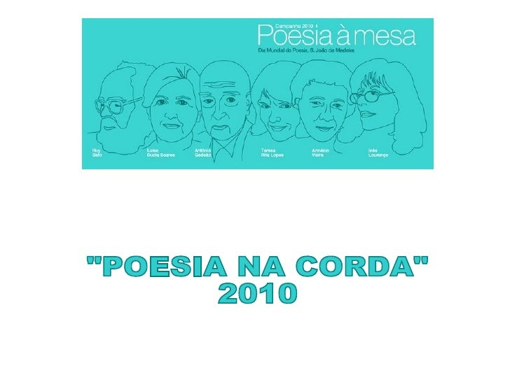 """""""POESIA NA CORDA""""  2010"""