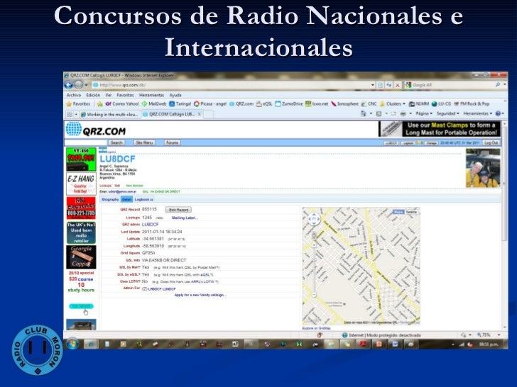 Concursos De Radio Nacionales E Internacionales