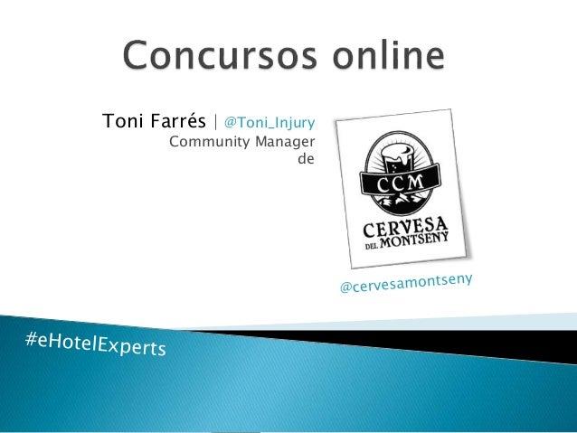 Toni Farrés | @Toni_Injury Community Manager de