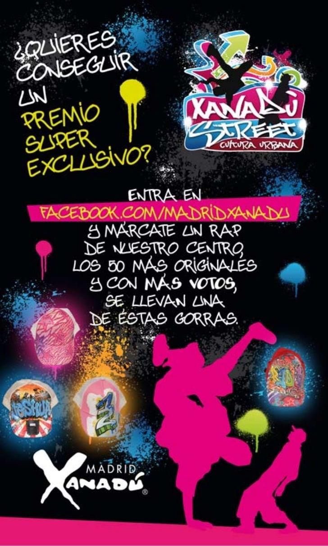 Concurso xanadu street facebook