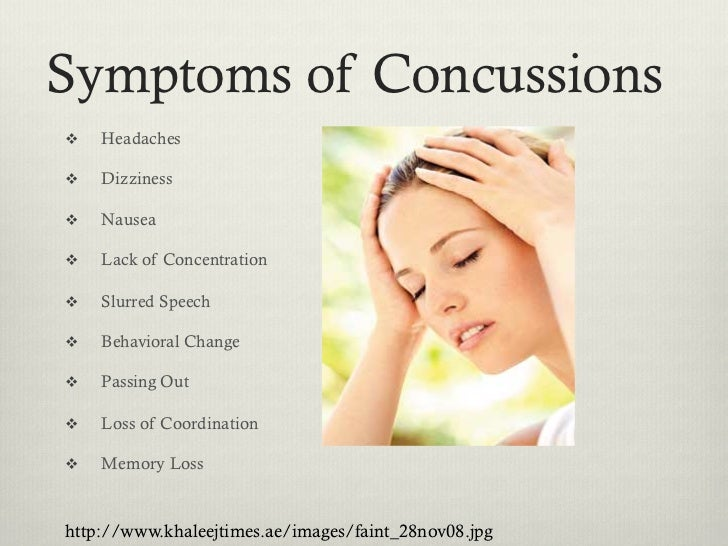 how long does a concussion last