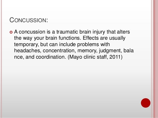 Concussions Are Affecting The Game Of Football Fascinating Concussion Quotes
