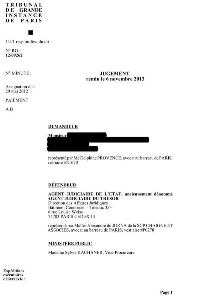 Condamnation de. la france pour déni de justice familiale