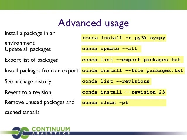Conda: A Cross-Platform Package Manager for Any Binary
