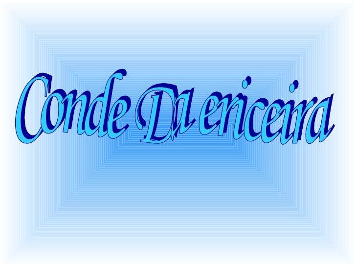 Conde Da ericeira