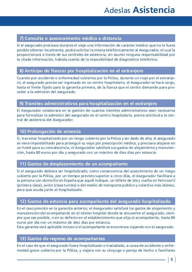 Condiciones generales adeslas asistencia tu oficina local coslada - Oficinas de adeslas en madrid ...