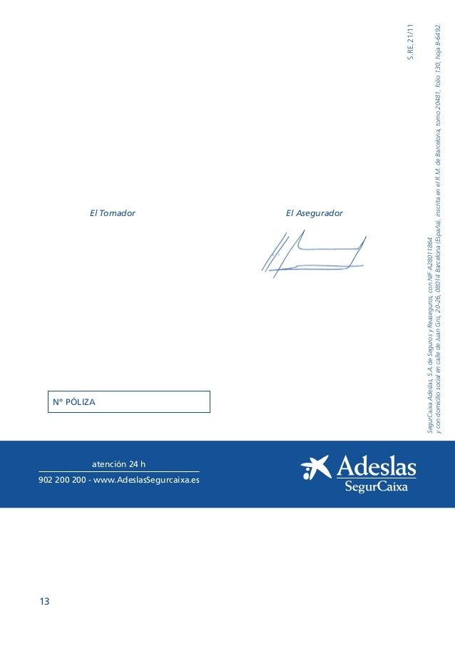 Condiciones generales adeslas completa tu oficina local coslada - Oficinas de adeslas en madrid ...