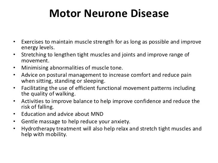 Prognosis for motor neurone disease for What is motor neuron disease caused by