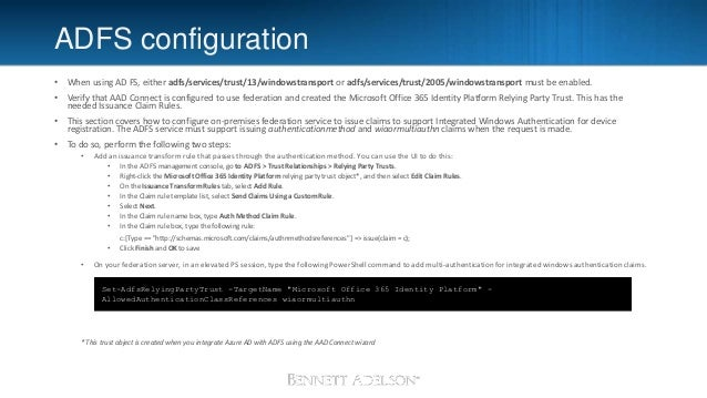 Preparing your enteprise for Hybrid AD Join and Conditional Access