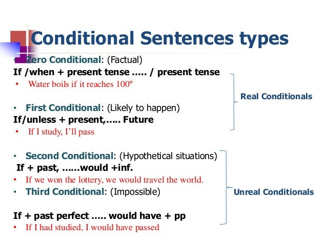 Conditional Sentences 44765321 on 6 Simple Present Exercises