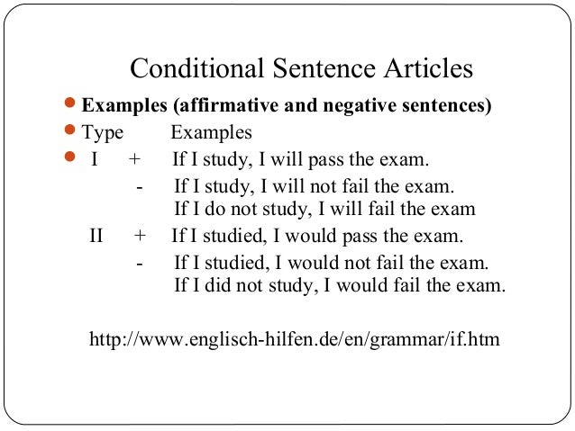 articles on a sentence