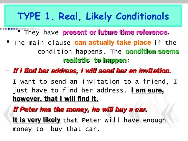 present real conditional worksheet pdf