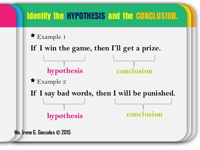 examples of hypothesis